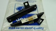 Mk1 Capri Gt Rs Genuine Ford Nos Set Of Front Licence Plate Mounting Brackets