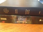 Brand New Dake's Annotated Reference Bible Large Print Leather