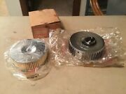 Nos 1960s Kawasaki Left Air Filter With Element For W1ss/w2ss Commander W2tt