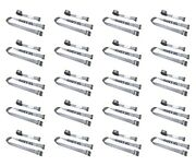 20 Pack 2 X 16and039 E-track Cam Buckle Strap Truck Trailer Enclosed Cargo Tie Down