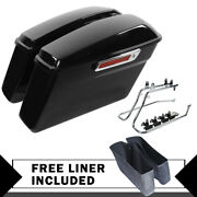 Saddlebags Saddle Bags W/conversion Brackets Fit For Harley Softail Heritage