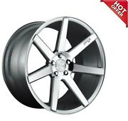 Fit Cls Clk 20 Staggered Niche Wheels M179 Verona Gloss Silver Machined Popular