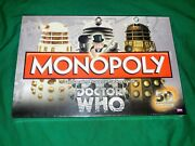 Brand New Sealed Monopoly Dr. Who Edition 50th Anniversary Collector's Edition