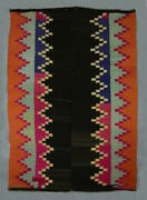 Great Giant Tribal Tapestry Textile Art Antique Indigenous Andes Blanket Tm12953