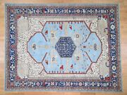 9and0393x12and039 Antiqued Bakshaish High Kpsi Handknotted Oriental Rug G43835