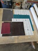 Mixed Lot Of 35 Various Sized Sheets Of Gravotac And 2-plex By Gravograph