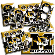 Missouri Tigers College Football Team Light Switch Wall Plates Outlet Home Decor