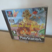 Lion And The King 2 Ps1 New Sealed Pal Version