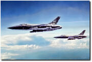 Heavy Metal Thunder By Peter Chilelli - Republic F-105 Thunderchief
