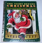 A Little Golden Book The Night Before Christmas 1949