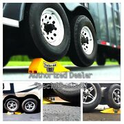 Horse Trailer Tandem Tire Changing Ramp Safety Lift Wheel Chock Jack Stand Tool