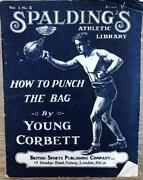 C1920and039s Spaldingand039s Athletic Library Young Corbett Boxing Original Wraps