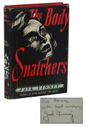 The Body Snatchers Signed By Jack Finney First British Edition 1st Hardcover