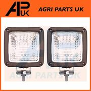 2x Ride On Lawn Mower Work Lights Lamp Husqvarna John Deere Countax Hayter Honda