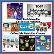 Funko Pop Series Sets Every Pop Includes A Popshield Protector And Free Shipping