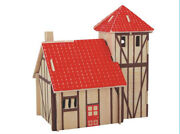 Child Assembly Diy Education Toy 3d Wooden Model Puzzles Of Farm Villa House