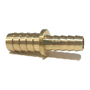 Edge Industrial 1/2 X 3/8 Hose Id Brass Barb Reducer Splicer Fitting Fuel /