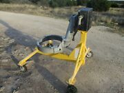 Used Honeywell Gas Turbine Engine Work Stand Rotating 360 Degrees Hd Gearbox A