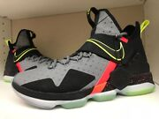 Nike Lebron 14 Xiv Out Of Nowhere Xmas Mens Size 9.5 Limited Qs 852406 001