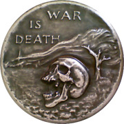 Society Of Medalists 1950 42nd Peace Is Life War Is Death Cecil Howard, Sculptor