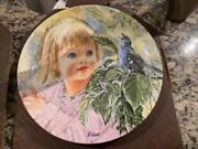 """Edwin M Knowles Collectors Plate 1985shall We Dance 1986""""discovery"""" China Nib"""
