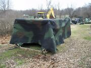 Military Truck Trailer Tent 5 Ton Camo Cover 8 X14.5 X 4 Mtv M1083 Army Nice
