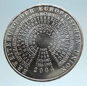 2004 Germany European Union Eu Expansion Proof Silver German 10 Euro Coin I75023