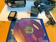 Samsung Hmx-h204 16 Gb Camcorder - Software Cables Box Battery