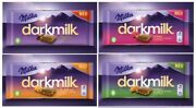 New - Milka Darkmilk - With Extra Cocoa - Diffrend Kinds - 4 Four Bars
