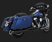 Vance And Hines Pro Pipe Black 47583 For Harley 2017-2018 Milwaukee 8 Fl Models