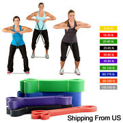 Heavy Duty Resistance Bands Set Loop For Gym Exercise Pull Up Fitness Workout