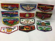 Boy Scouts - Assorted Order Of The Arrow Flaps Lot  72