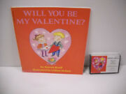Vintage Scholastic Who Will You Be My Valentine Paperback Book W/ New Cassette