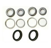 Front Wheel Bearing And Race And Seal Fit 1957-1969 Ford Ranchero 2wd 4wd
