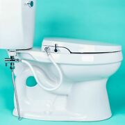 Geniebidet [elongated] Seat-self Cleaning Dual Nozzles. Rear And Feminine Clean...