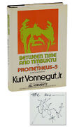 Between Time And Timbuktu By Kurt Vonnegut Signed First Edition 1972 1st
