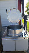 Market Forge Mt40 Direct Steam Kettles 40 Gal Need Power Source