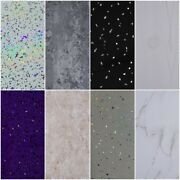 10 White Black Grey Sparkle And Marble Shower Wall Panels Pvc Bathroom Cladding