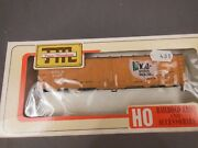 Ho Scale Train Miniature Mid States Packers 40' Steel Reefer Kit