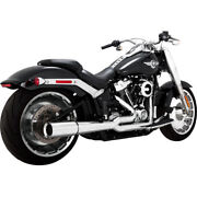 Vance And Hines Pro Pipe 2 Into 1 Exhaust 17589 For Harley 2018-2019 Softail
