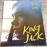 Charlie Plummer King Jack Signed Autograph 8x10 Photo B W/exact Proof