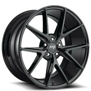 20 Staggered Niche M119 Misano Black Wheels And Tires