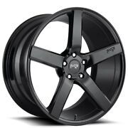 20 Staggered Niche M188 Milan Black Wheels And Tires