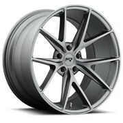 20 Staggered Niche M116 Misano Anthracite Wheels And Tires