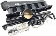Intake Manifold Plenum And Throttle Body Fuel Rail For 98+ Rb25det Rb25 Neo Turbo