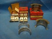 Dodge Plymouth 201 218 Main Bearing Set 040 Usa Made 1932 - 1945 2.25 Std Crank