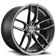 20 Niche M204 Vosso Gloss Anthracite Wheels And Tires