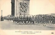 All Holidays Victory Andagrave Paris 14 July 1919 The Parade Of Sailors American