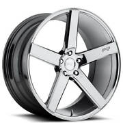 4rims 20 Staggered Niche M132 Milan Chrome Wheels And Tires