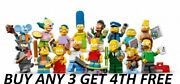 Lego Minifigures Simpsons Series 1 Mini Figures 71005 Buy Any 3 Get 4th Free